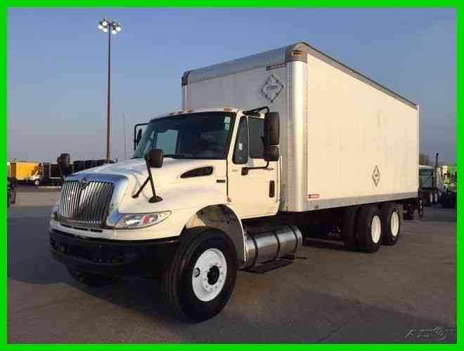 International 4400 2012 Van Box Trucks