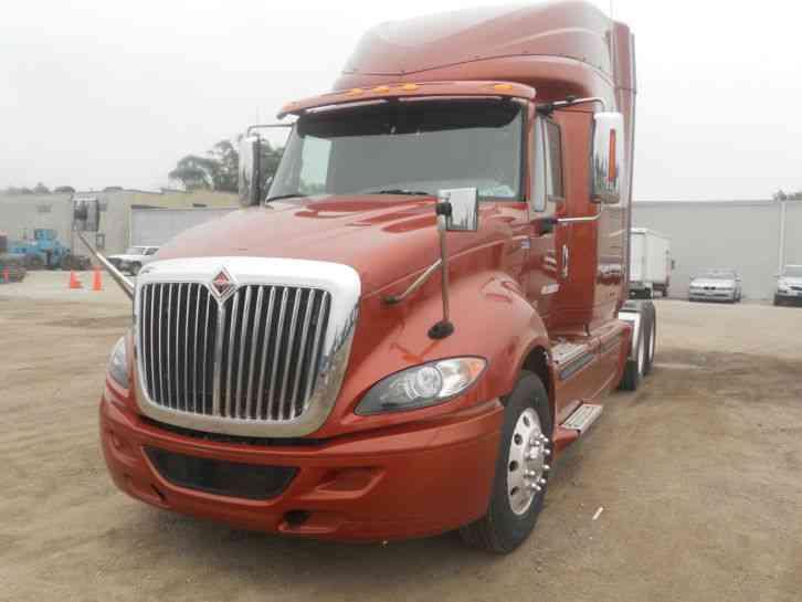 international prostar 2012 sleeper semi trucks