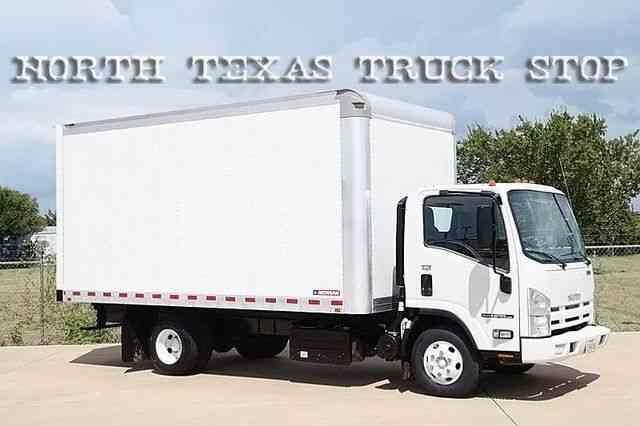 Isuzu Diesel Auto Box Van 210hp 1 Texas Owner 2012 Van Box Trucks