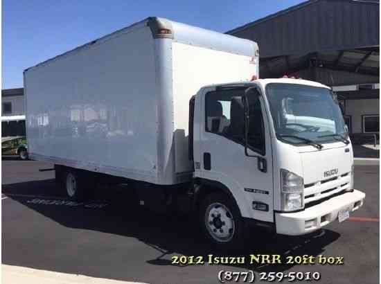 Isuzu NRR 20ft Box Truck Low Miles Automatic Transmission, Multiple In  Stock (2012)