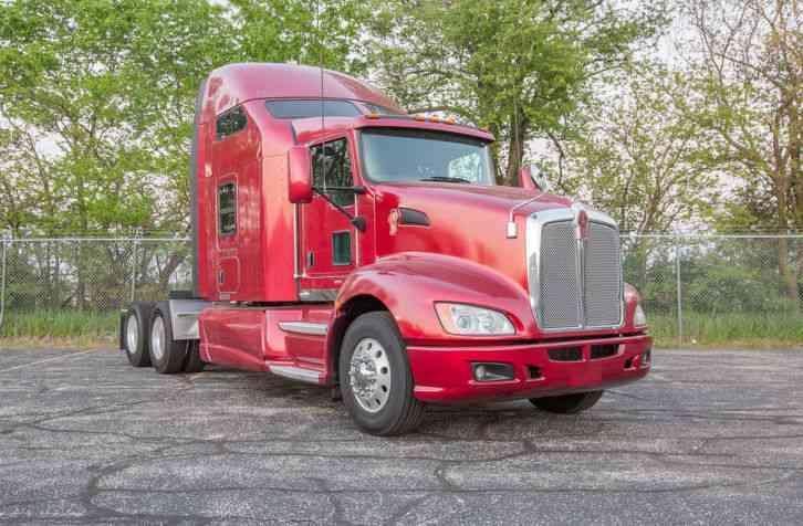 Kenworth T660 2012 Sleeper Semi Trucks