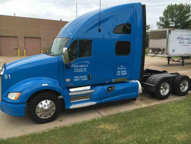 Kenworth T700 (2012) : Sleeper Semi Trucks