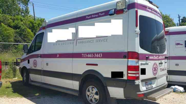 Mercedes benz ambulance 2012 emergency fire trucks for Mercedes benz emergency service