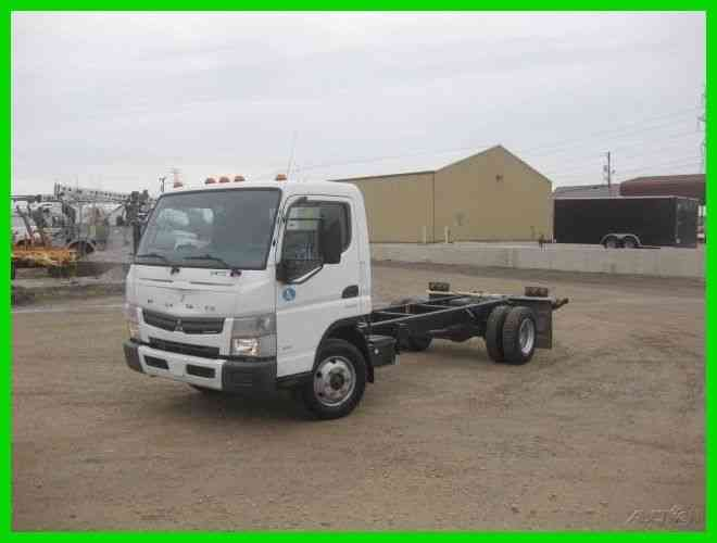 MITSUBISHI FE160 3. 0 DIESEL DUONIC TRANS CAB AND CHASSIS (2012)