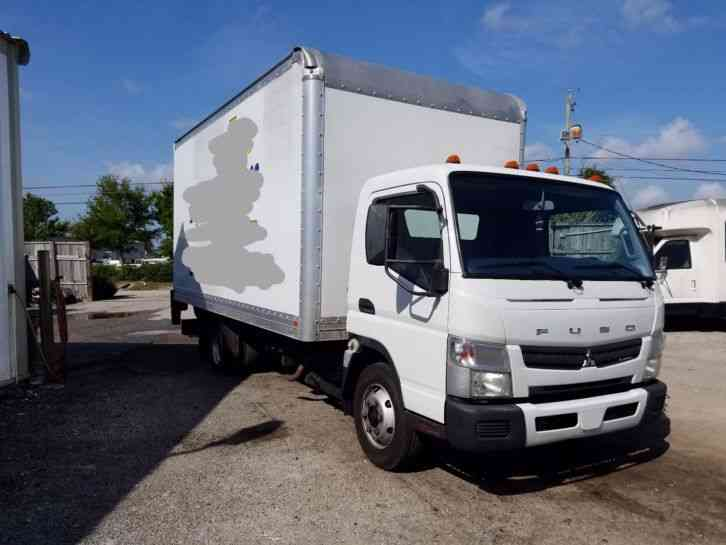 Box Trucks For Sale: Mitsubishi Fuso Box Trucks For Sale