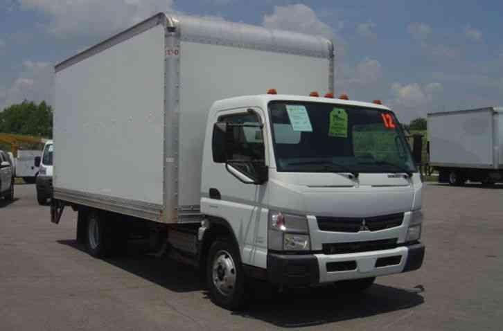 Mitsubishi Fudo Fe160 2012 Van Box Trucks