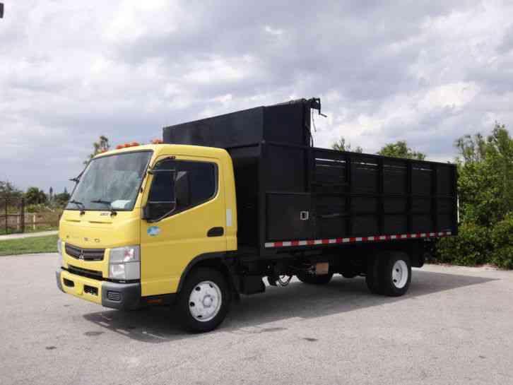 Mitsubishi Fuso FE160 Dump Truck (2012)