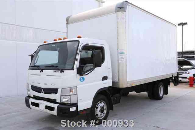 Mitsubishi Other FUSO FE160 CARGO BOX TRUCK DIESEL (2012)