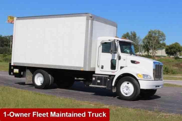Peterbilt 337 Box Truck 2012 Van Box Trucks