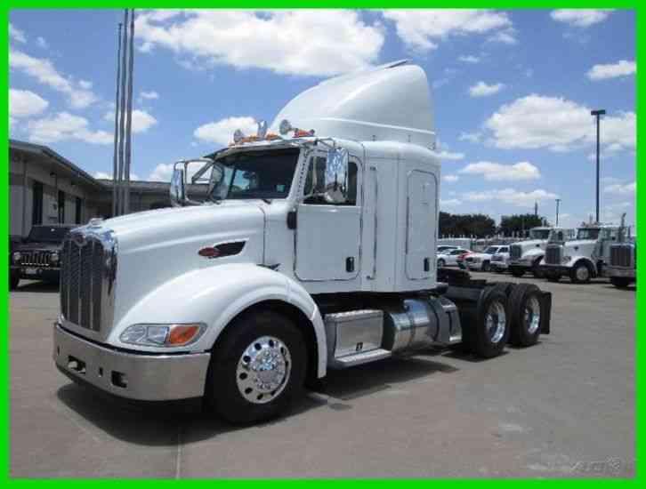 Semi Truck Weight : Peterbilt  sleeper semi trucks