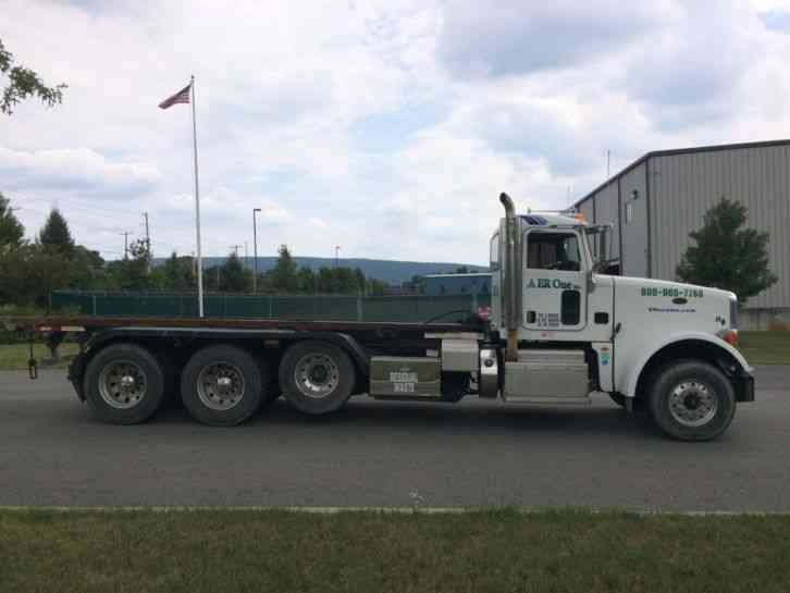 Peterbilt Semi Tri Axle Truck : Peterbilt  heavy duty trucks