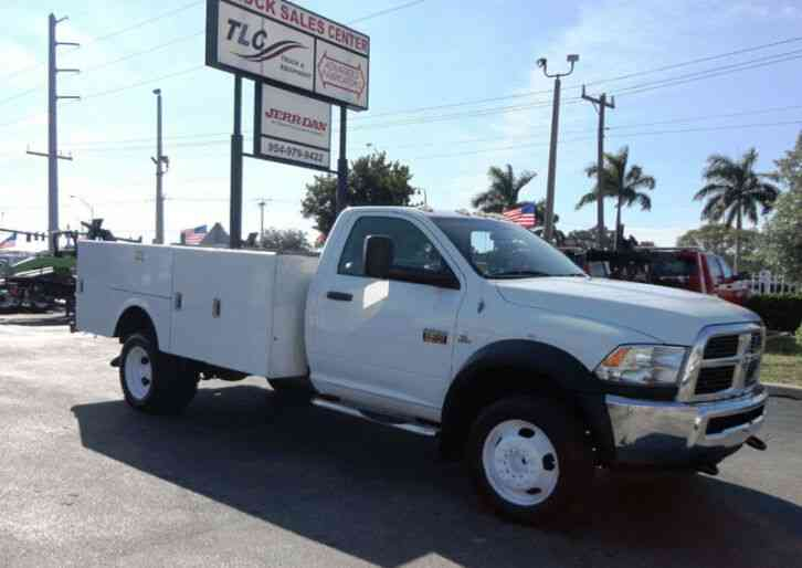 Ram 5500 12FT UTILITY SERVICE TRUCK (2012)