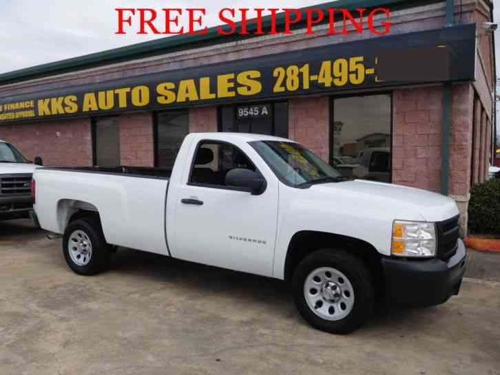 CHEVROLET SILVERADO 1500 HD PICKUP TRUCK LONG BED (2013)