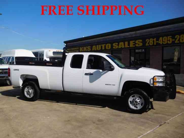 CHEVROLET SILVERADO 2500 HD 4WD WORK TRUCK WITH UTILITY BOX (2013)