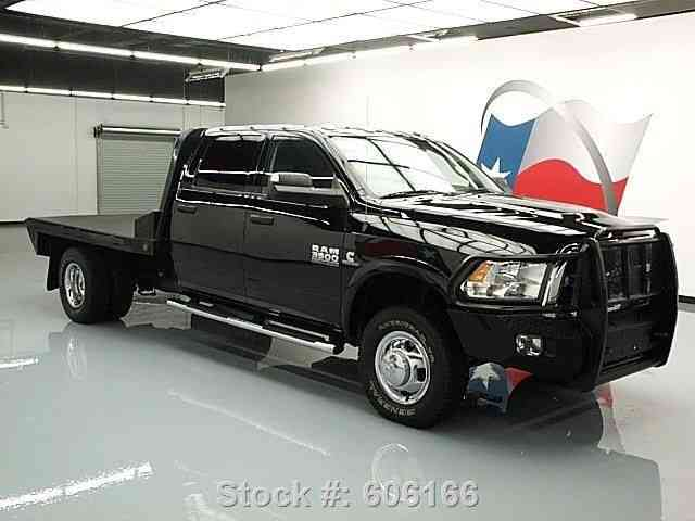 Flatbed Tow Truck >> Dodge Ram 3500 HD TRADESMAN 4X4 DIESEL FLATBED (2013 ...