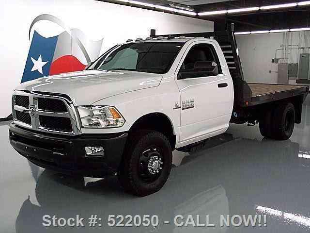 dodge ram 3500 slt reg cab diesel drw flatbed 2013 commercial pickups jingletruck com