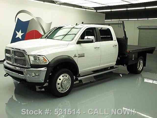 dodge ram   diesel gin pole flatbed tow  commercial pickups