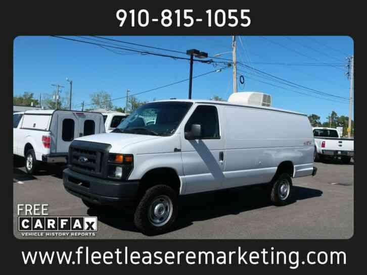 Ford E-350 Econoline Quigley 4x4 Cargo Van (2013)