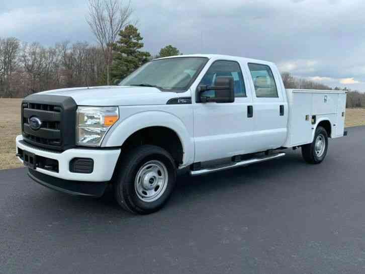 Ford F-250 SERVICE UTILITY TRUCK (2013)