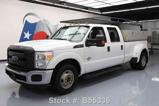 ford dually crew utility diesel f350 service