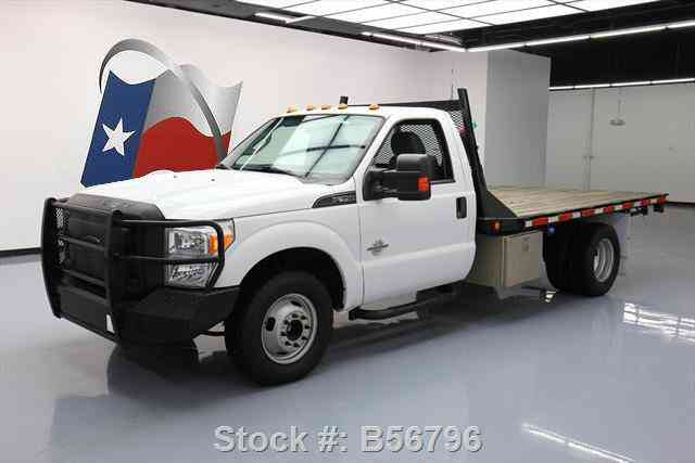 ford flatbed dually reg cab 350 diesel f350 bed 4x4 dodge ext ram bale flat f550 commercial texas jingletruck crew