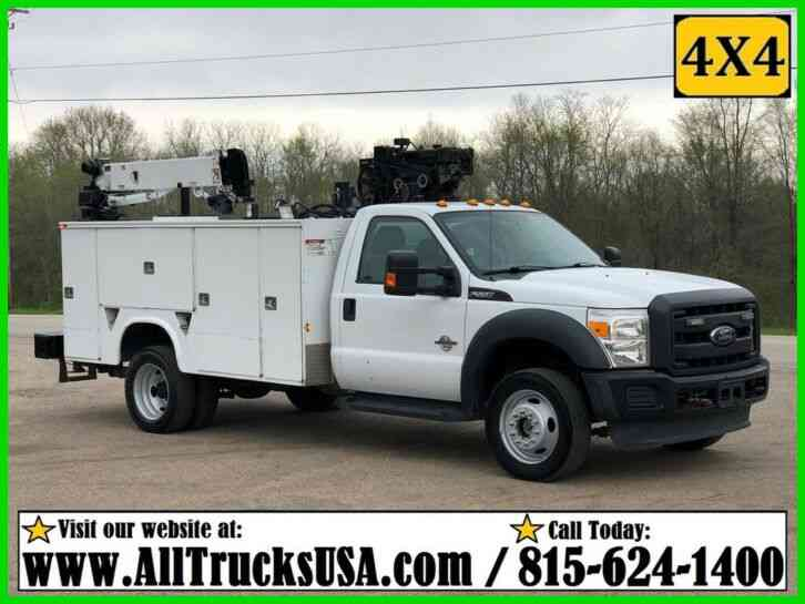 Ford F550 4X4 (2013)