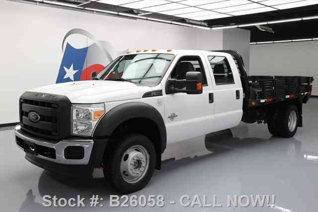 Ford F-550 CREW 4X4 DIESEL DUALLY STAKE/FLATBED (2013)
