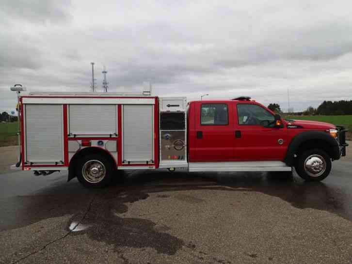 Ford F 550 For Sale >> Ford F550 Fire Truck (2013) : Emergency & Fire Trucks