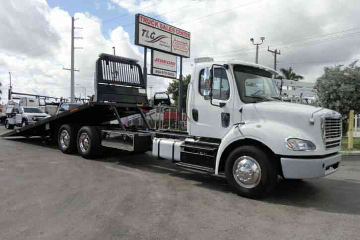 Freightliner BUSINESS CLASS M2 *NEW* 28FT JERRDAN 10TON INDUSTRIAL ROLLBACK TOW T (2013)