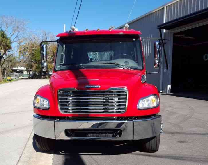 Crew Cab Box Truck For Sale >> Freightliner M2 Crew Cab Rollback (2013) : Flatbeds & Rollbacks