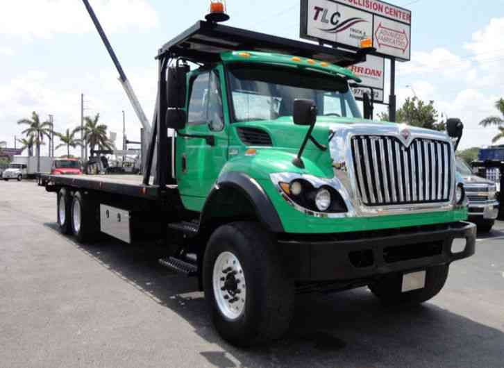 International 7500 28FT 15 TON ROLLBACK INDUSTRIAL JERRDAN. . TANDEM A (2013)