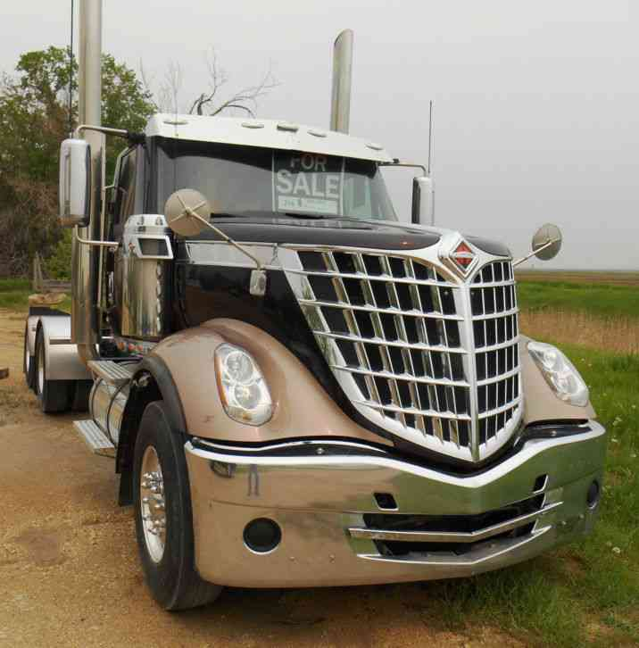 international lonestar tandem axle day cab semi truck looks sharp 2013 daycab semi trucks. Black Bedroom Furniture Sets. Home Design Ideas