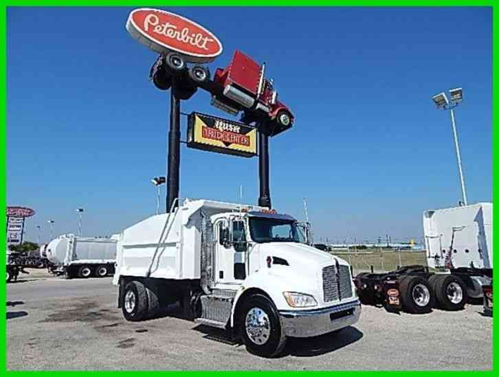 kenworth t370 2013 medium trucks. Black Bedroom Furniture Sets. Home Design Ideas