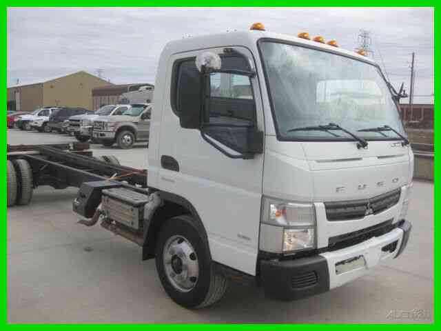 MITSUBISHI FE180 4 CYL TURBO DIESEL AUTO CAB AND CHASSIS (2013)