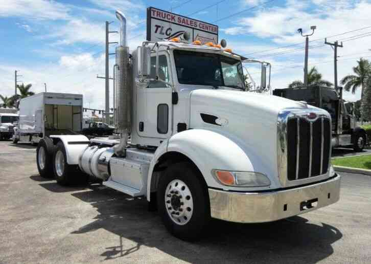 Peterbilt 384 TANDEM AXLE DAY CAB TRUCK TRACTOR WITH PTO WET KIT (2013)