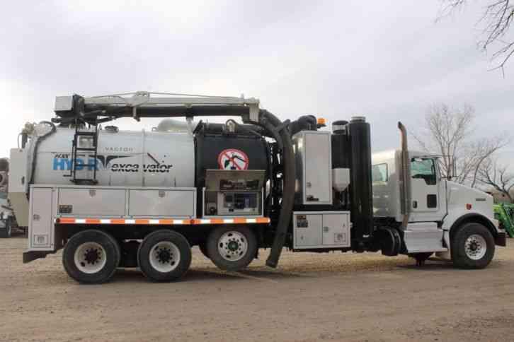 Kenworth T800 Vactor 2013 Heavy Duty Trucks