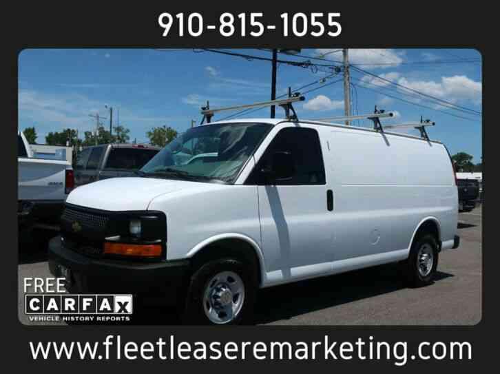 Cargo Van For Sale By Owner >> Chevrolet G2500 Express Cargo Van Cargo Van 2014 Van