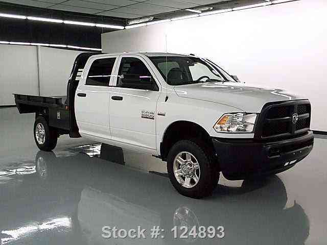 dodge ram 2500 crew cab hemi 4x4 flat bed 2014 commercial pickups. Black Bedroom Furniture Sets. Home Design Ideas