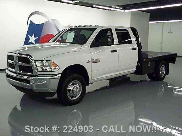 Curtis Auto Sales >> Dodge Ram 3500 4X4 CREW DIESEL DUALLY FLATBED (2014) : Commercial Pickups