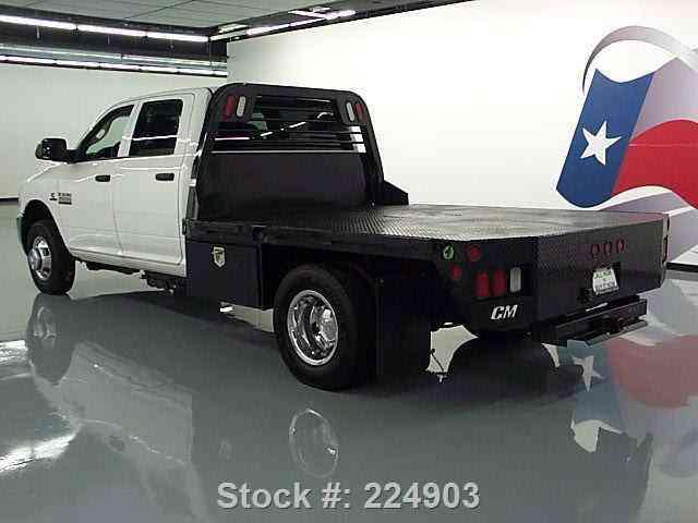 dodge ram 3500 4x4 crew diesel dually flatbed 2014 commercial pickups. Black Bedroom Furniture Sets. Home Design Ideas