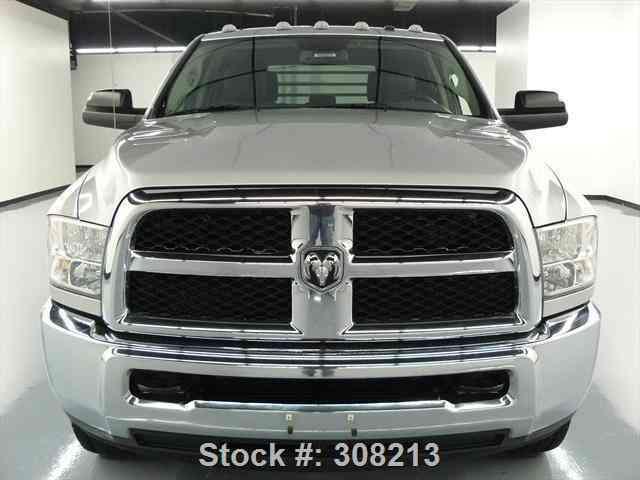 dodge ram 3500 hd tradesman 4x4 diesel flatbed  2014    commercial pickups