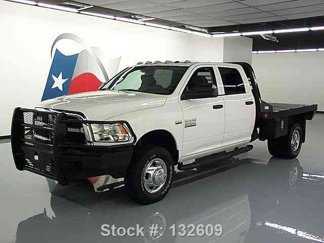dodge ram 3500 tradesman crew 4x4 hemi flatbed 2014 commercial pickups. Black Bedroom Furniture Sets. Home Design Ideas