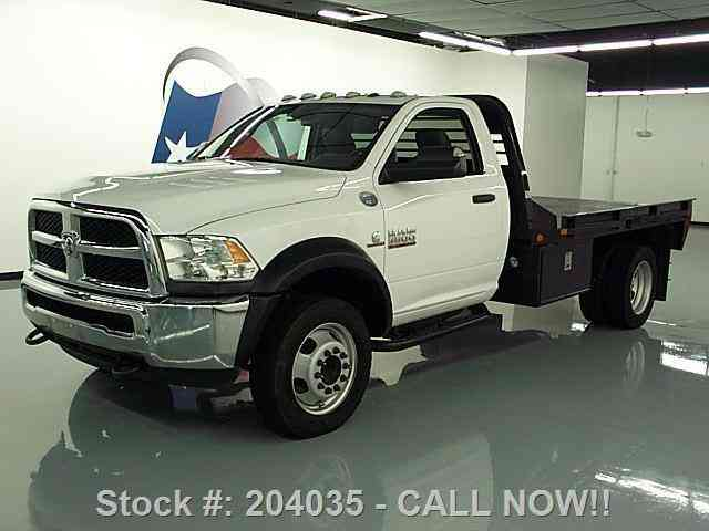 dodge ram 5500 reg cab diesel dually flat bed  2012    commercial pickups