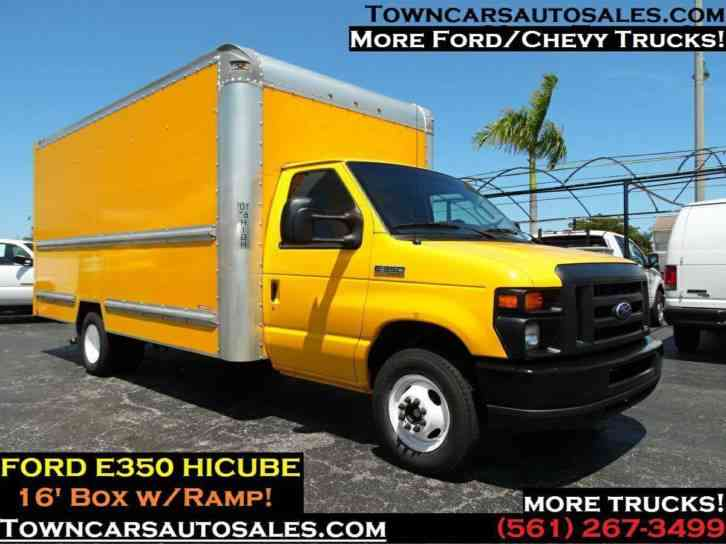 FORD E350 16 FOOTER BOX TRUCK Box Truck (2014)