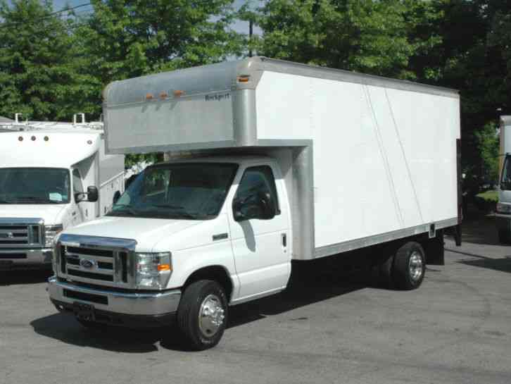 Ford E450 Cutaway 16 Ft Box 2014 Van Box Trucks