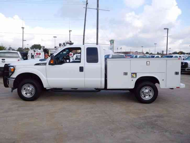 Ford F-350 Super Duty 4X4 Utility Service Truck (2014 ...
