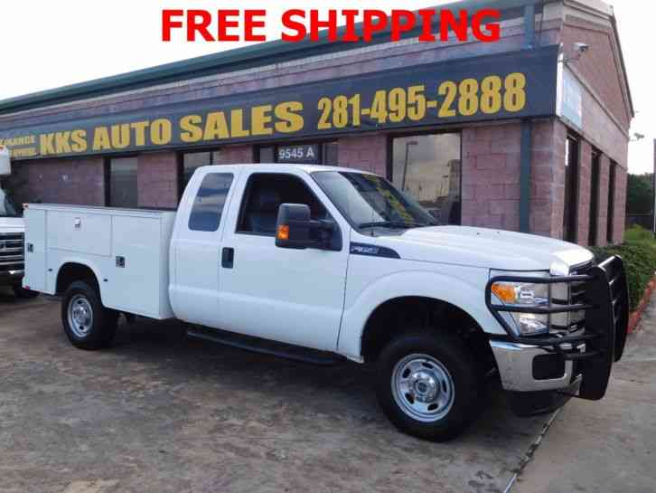 Ford F-350 Super Duty 4X4 Utility Service Truck (2014)