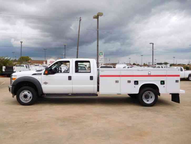 Ford F 550 For Sale >> Ford F-550 Super Duty Utility Service Truck Crew Cab (2014) : Utility / Service Trucks
