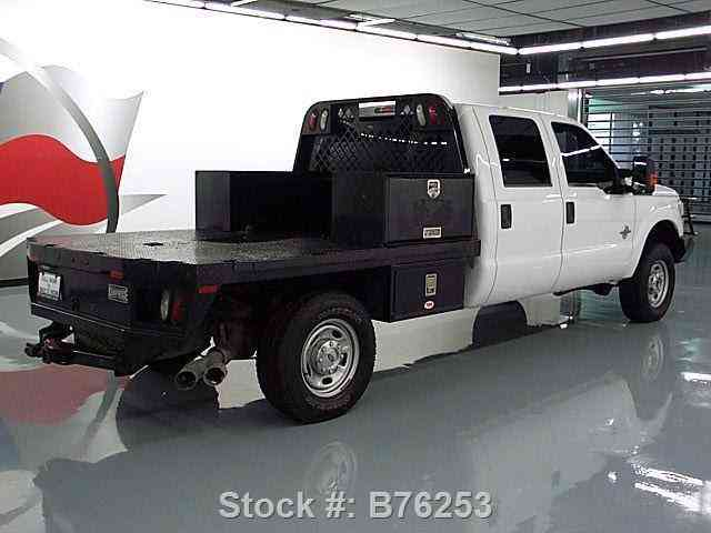 Ford F 250 Crew Diesel 4x4 Flat Bed Brush Guard 2014 Commercial Pickups