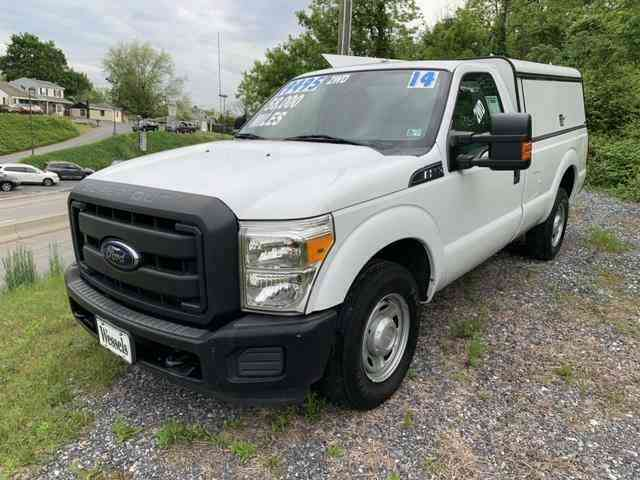 Ford F250 8 Foot Bed For Sale >> Ford F 250 Super Duty 8 Bed 2014 Utility Service Trucks